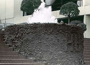 Ruth Asawa's San Francisco fountain. Smithsonian Save Outdoor Sculptures project, U.S. Federal Government. Image courtesy of Wikimedia Commons.