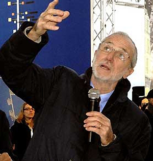 Architect and now Italian Senator for life Renzo Piano (b. 1937-).