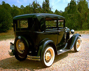 Father, son search for their stolen 1929 Ford Model A