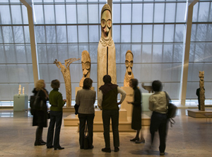Inside one of the galleries at The Metropolitan Museum of Art. Image courtesy of MMA.