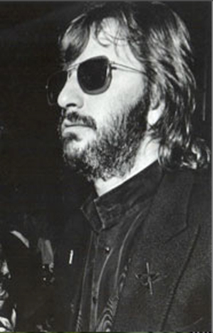 Copyrighted photo of Ringo Starr appears by permission of Catherine Saunders-Watson. All rights reserved.