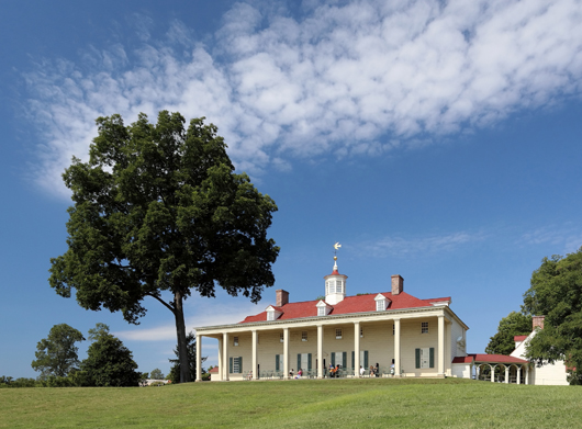 Mount Vernon, eastern facade. Image by Martin Falbisoner. This file is licensed under the Creative Commons Attribution-Share Alike 3.0 Unported license.