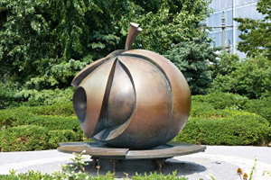 'The Apple' by Stephan Weiss, New York. Photo by Garrett Ziegler via newyork.cbslocal.com.