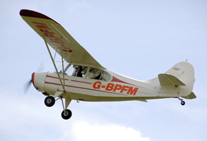 An Aeronca 7AC Champion, built 1946. Image by Arpingstone, courtesy of Wikimedia Commons.