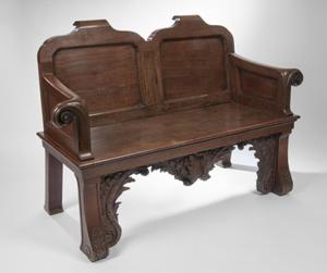 George II hall seat. Sworders image.
