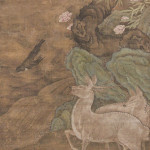 Chinese painting, Ming Dynasty, overall size 83 x 40 inches (211 x 102 cm), image: 71 x 36 inches (180 x 91 cm). Estimate: $5,000-$7,000. Material Culture image.