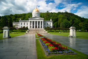 The Vermont Statehouse in Montpelier, Vt., is one of New England's most beautiful structures. It is listed on the National Register of Historic Places. Photo by jonathanking, licensed under the Creative Commons Attribution-Share Alike 3.0 Unported license.
