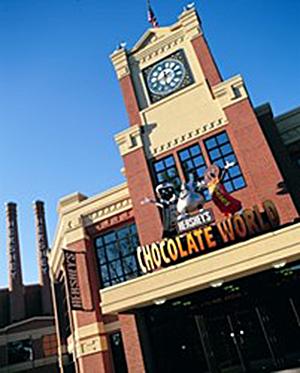 Hershey's Chocolate World flagship location in Hershey, Pa. Image courtesy of Hershey's.