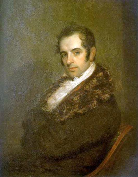 Portrait of Washington Irving (1783-1859) by John Wesley Jarvis (1780-1840). Image courtesy of Wikimedia Commons.