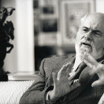 Art critic and philosopher Arthur C. Danto. Image by D. James Dee. Courtesy of Wayne State University.
