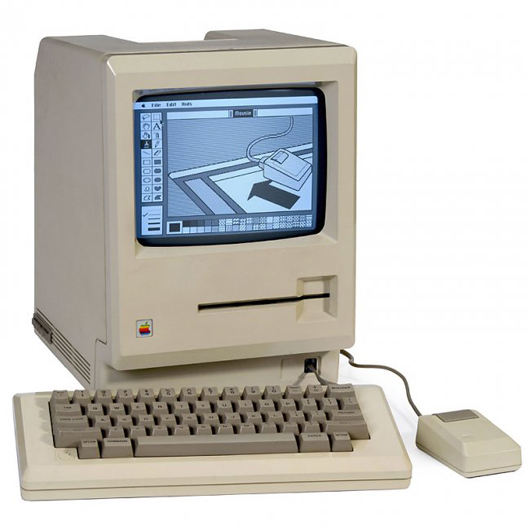 Prototype of the Twiggy Drive Macintosh, 1983. Auction Team Breker image.