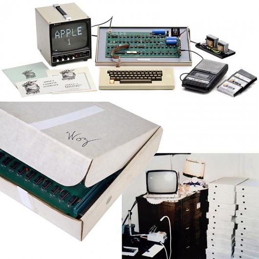 The Apple-1 computer. Auction Team Breker image.