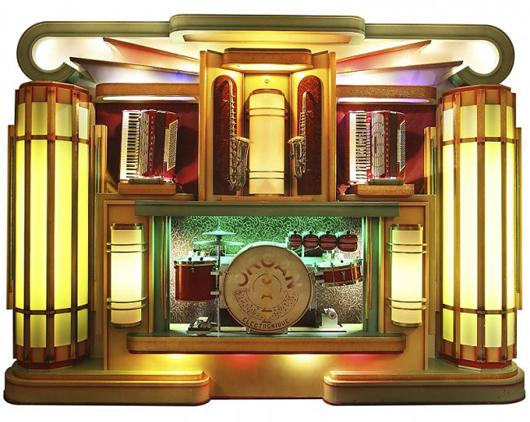 Belgian Decamps dance organ, 1950s. Auction Team Breker image.