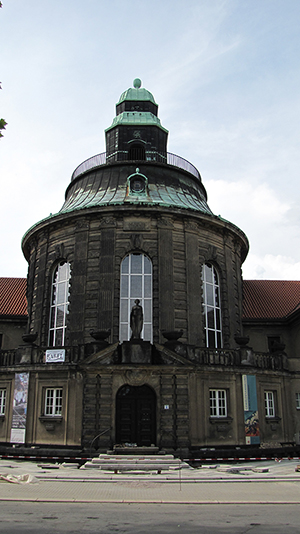 Hildebrand Gurlitt became the first director of the König Albert museum in Zwickau in 1925. Image by Concord. This file is licensed under the Creative Commons Attribution-Share Alike 3.0 Unported license.