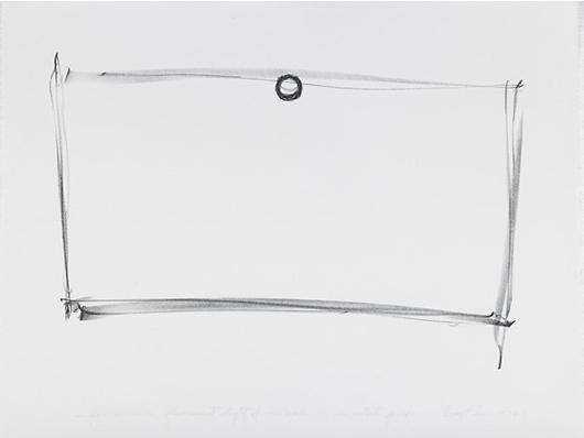 Dan Flavin, 'Five Lithographs.' Estimate: $2,000-3,000. Rago Arts and Auction Center image.