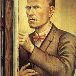 A self-portrait by Otto Dix was apparently passed on by Hildebrand Gurlitt to his son Connelius. Fair use rationale: This copyrighted image of a historically significant artwork is being used for informational and educational purposes. Image courtesy of Wikipaintings.org.