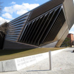 Michigan State University's Eli and Edythe Broad Art Museum in East Lansing, Mich. Image by Dj1997. This file is licensed under the Creative Commons Attribution-Share Alike 3.0 Unported license.