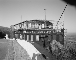 One landmark missing from the route through Bedford, County, Pa., is the Ship Hotel, which was destroyed in a 2001 fire. Image courtesy of Wikimedia Commons.