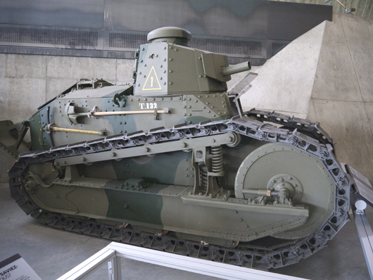An M1917 tank at the Canadian War Museum is similar to one in the Jacques Littlefield collection. Image by JustSomePics. This file is licensed under the Creative Commons Attribution-Share Alike 3.0 Unported license.