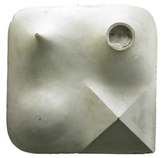 Isamu Noguchi's collection of preparatory works for his sculpture, 'My Arizona.' Price realized: $300,000. Rago Arts & Auction Center image.