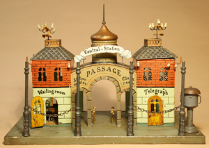 Marklin Central Station with canopy, German. Est. $4,500-$6,500. RSL Auctions image.