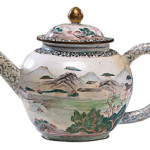 This copper teapot covered with enamel was made in China in the 19th century. It sold at Cowan's Auctions Inc. in Cincinnati last year for $660.