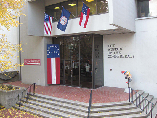 The entrance to the Museum of the Confederacy in Richmond, Va. Image courtesy of the Museum of the Confederacy.