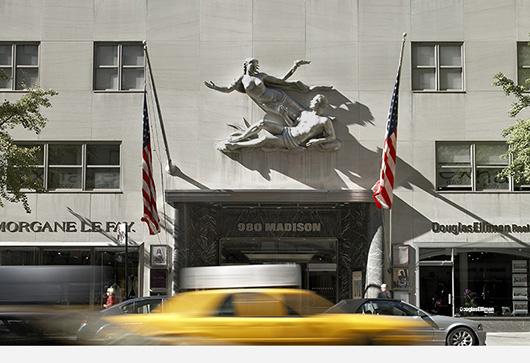 Wright's new gallery at 980 Madison Avenue, New York City, which will open to the public on Nov. 22, 2013. Image courtesy of Wright.