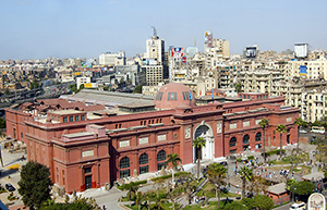 The Egyptian Museum in Cairo. Image by Bs0u10e01. This file is licensed under the Creative Commons Attribution 3.0 Unported license.