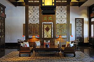 Aman at Summer Palace, Lobby, Bejing, China. Photo courtesy Amanresorts.