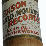 Rare 1893 Edison cylinder #694 performed by the black vocal group 'The Unique Quartette,' sung acapella. Image courtesy of Saco River Auction Co.