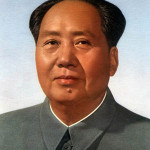 Official portrait of Mao Zedong attributed to Zhang Zhenshi and a committee of artists. This version hung at Tiananmen Gate prior to about 1967.