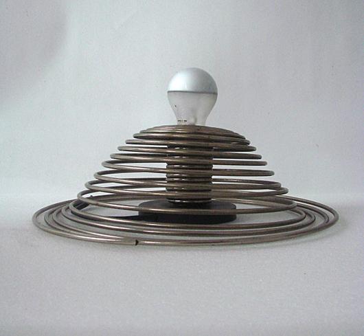 Candle, Angelo Mangiarotti, table lamp. Nova Ars image.