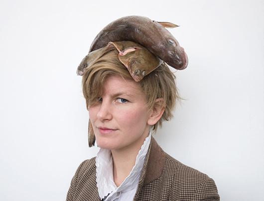 Portrait of Laure Prouvost. Copyright the artist, courtesy MOTInternational.