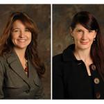 New executive appointments at Morphy Auctions include (left) Dana E. Costello CPA, financial controller; and Melissa R. Fedorczyk, retail manager. Morphy Auctions image.