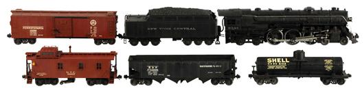 Lionel O-gauge No. 700E freight train set, pre-WWII. Est. $3,000-$6,000. Morphy Auctions image.