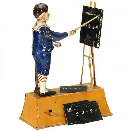 Tipp & Co. Calculating Boy set a new record, selling for 6,750 euros ($9,100). Auction Team Breker image.