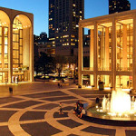 Lincoln Center for the Performing Arts in New York City. Photo taken by Nils Olander from Panoramio on June 7, 2007, licensed under the Creative Commons Attribution-Share Alike 3.0 Unported, 2.5 Generic, 2.0 Generic and 1.0 Generic license.