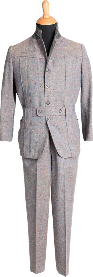 Gene Kelly suit from 'Singin' in the Rain,' MGM, 1952. Heritage Auctions image.