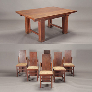 Shown As An Example Of Frank Lloyd Wrights Furniture Design Ethic But Unrelated To