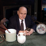 Gallery owner Allan S. Chait. Image courtesy of Ralph M. Chait Galleries.