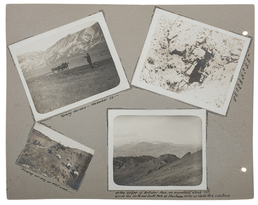Two albums of 'William F. Cody at Leisure, Compiled and Presented by Illustrator R. Farrington Elwell.' Estimate $6,000/$8,000. Cowan's Auctions image.
