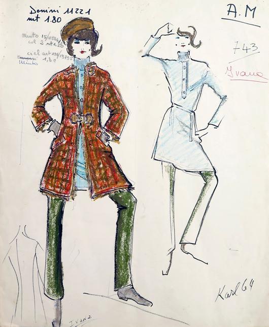 Jan 11 Palm Beach Modern To Auction Lagerfeld Liz Fashion Archive