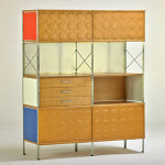 Lot 600 – Charles and Ray Eames/Modernica, ESU cabinet. Estimate: $800-$1,000. Rago Arts and Auction Center image.