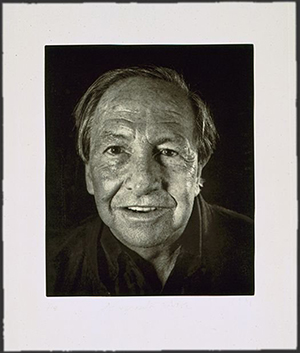 Chuck Close photograph of pop artist Robert Rauschenberg, 1998. Image courtesy of LiveAuctioneers.com Archive and Wittlin & Serfer Auctioneers.