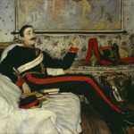 Frederick Burnaby by Tissot, 1870 (chosen by Sir Max Hastings). Copyright National Portrait Gallery.