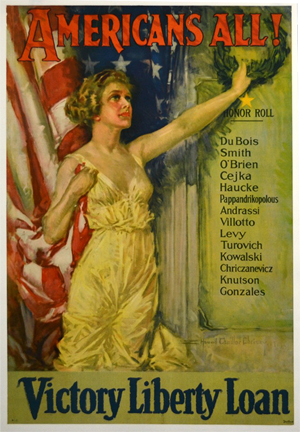 A single-owner collection of 530 World War I and World War II-era posters will be auctioned. Louis J. Dianni LLC image.