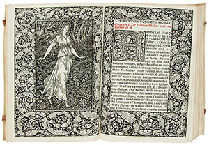 William Morris' 'The Wood Beyond the World,' sold for £2,196 ($3,609). Dreweatts & Bloomsbury Auctions image.