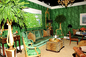 Scott Snyder's vignette from last year's Palm Beach Jewelry, Art & Antique Show. Palm Beach Show Group image.