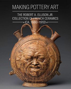 Metropolitan Museum of Art poster publicizing the exhibition 'Making Pottery Art: The Robert A. Ellison Jr. Collection of French Ceramics (ca. 1880-1910), which will run from Feb. 4-Aug. 18, 2014. Image courtesy of the Metropolitan Museum of Art.